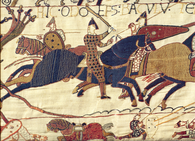 Odo on the Bayeux Tapestry