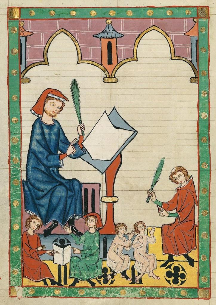Heidelberg, Universitätsbibliothek, Cod. Pal. germ. 848, fol. 292v