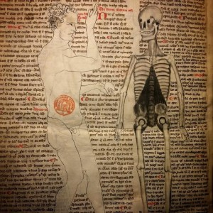14th-century medical text from the Bibliotheque Mazarine