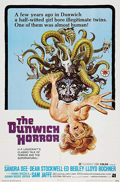 Poster for The Dunwich Horror (1970)