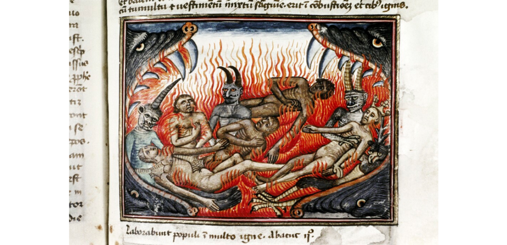 Detail from Bodleian Library MS Douce 134, f. 87r.