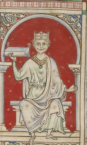 William Rufus as drawn by Matthew Paris